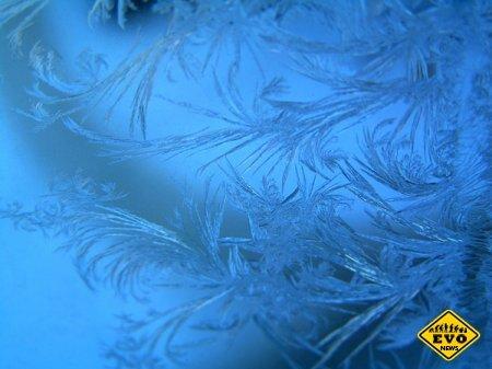 Как мороз рисует рисунки на стеклах?