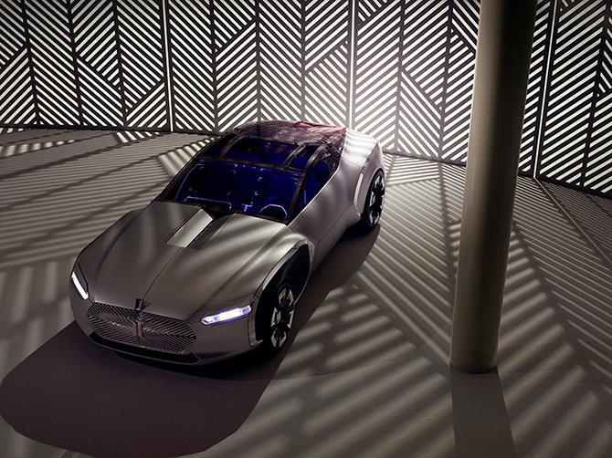 — Команда дизайнеров Renault представила концепт-кар Coupé C
