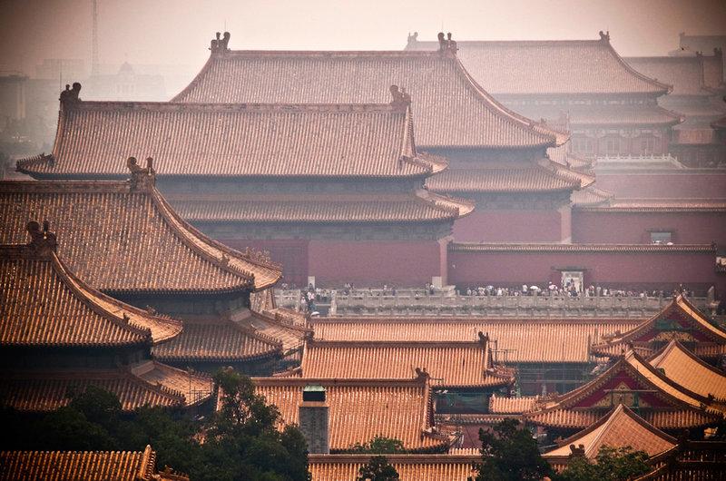 Контрастный Шанхай