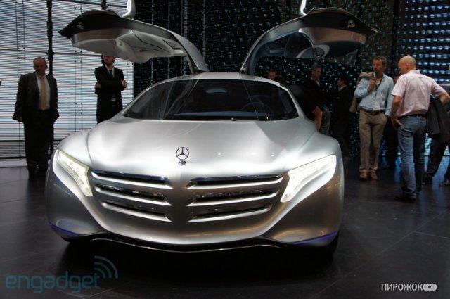 Концепт-кар Mercedes-Benz F 125 » Пирожок.NET – развлекательный портал с откровенной начинкой!