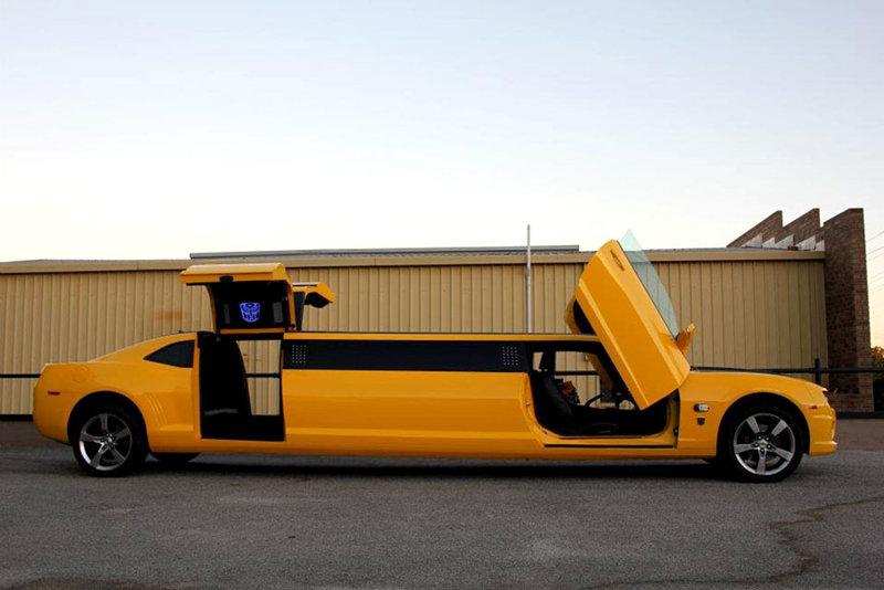 Лимузин Chevrolet Camaro по мотивам «Трансформеров»