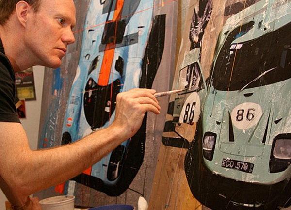 Маркус Хауб - автомобильный дизайнер и художник