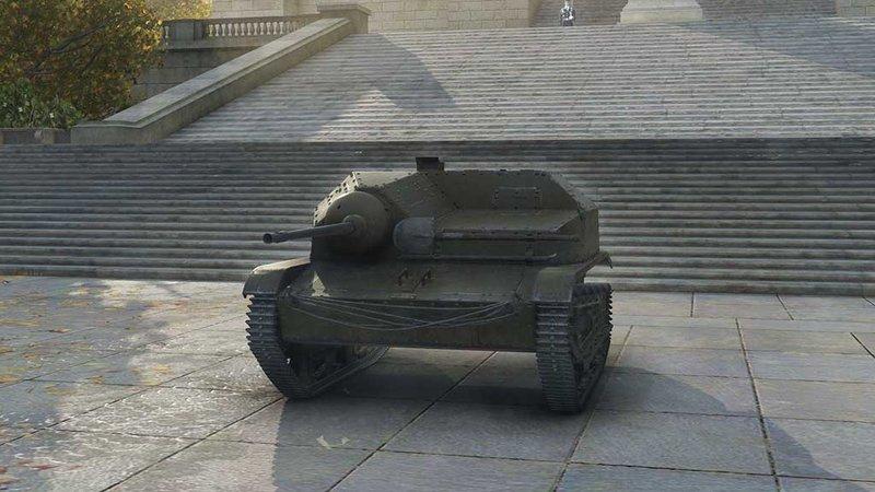 Модель танка TKS z n.k.m. 20 A