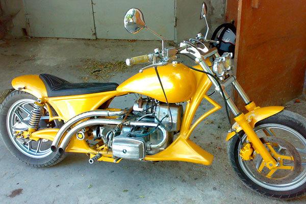 Мотоцикл Днепр - тюнинг для мужского мотоцикла. | В стиле Чоппер