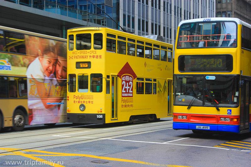 Наземный транспорт в Гонконге