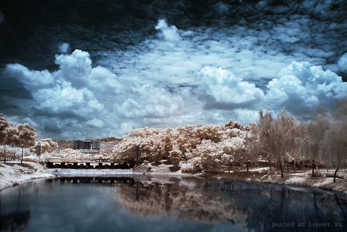 Небо над озером