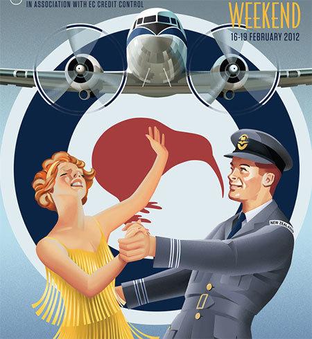 Неделя арт деко - авиация - постер 2