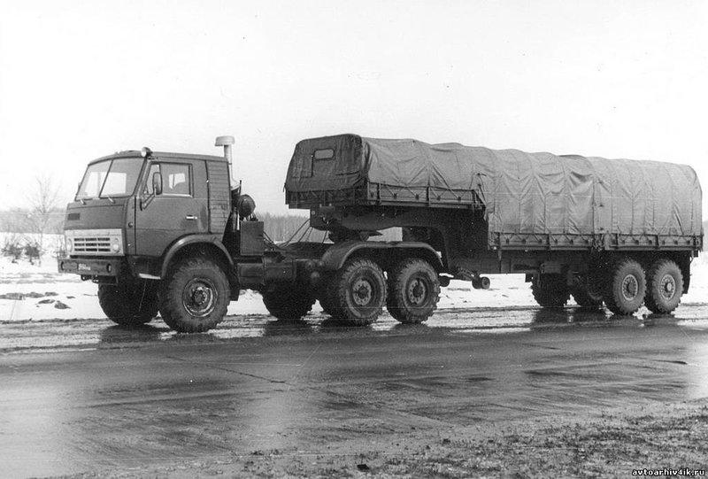 Первый полноприводный седельный тягач КамАЗ-4410