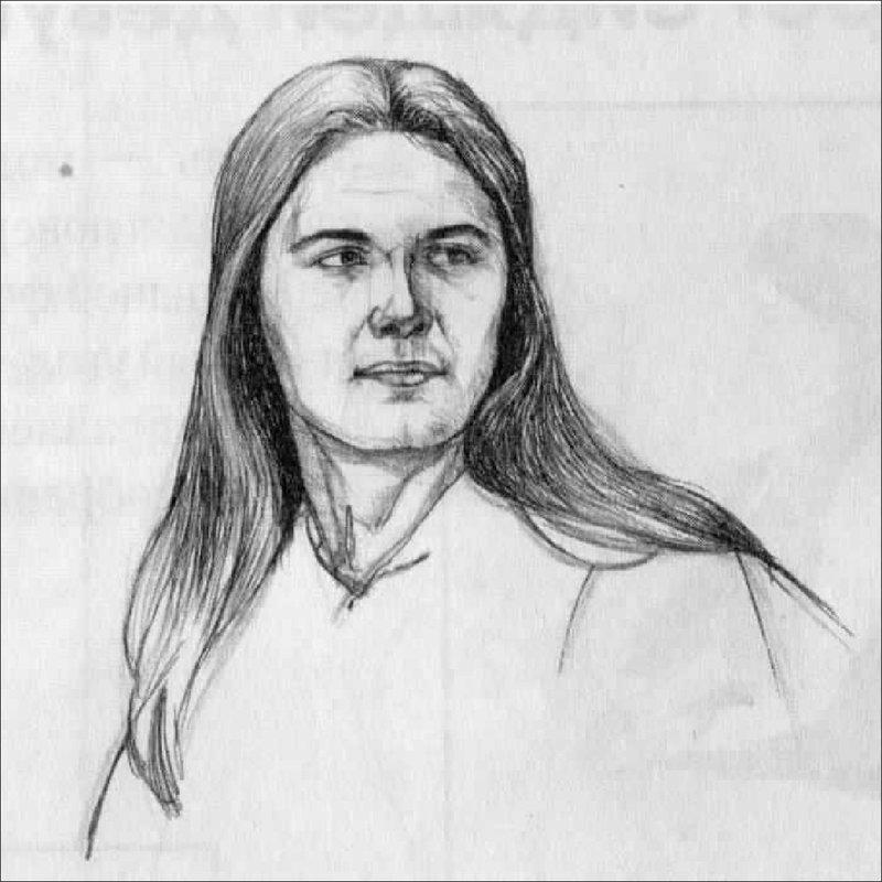 Портрет тушью
