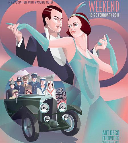 Постер Арт-деко