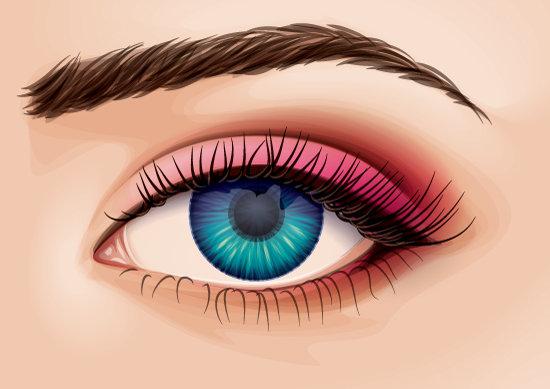 Рисуем глаза в векторе