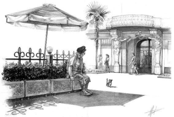 Рисунки карандашом и тушью | 501 фотография