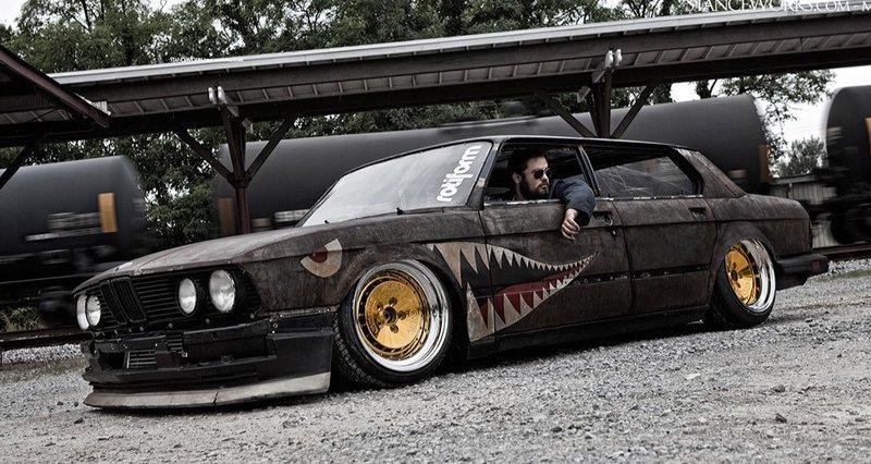Самый популярный авто в стиле Rat Look
