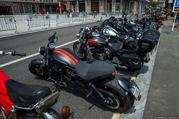 Слёт владельцев Harley-Davidson