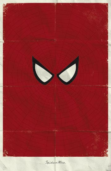 Spider Man. Минималистичный постер