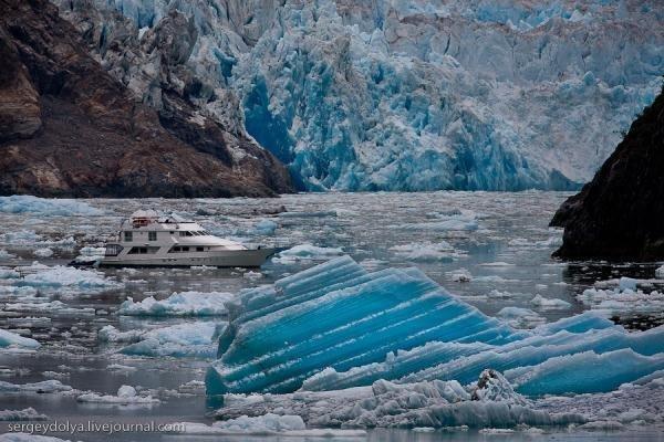 Среди льдов Аляски