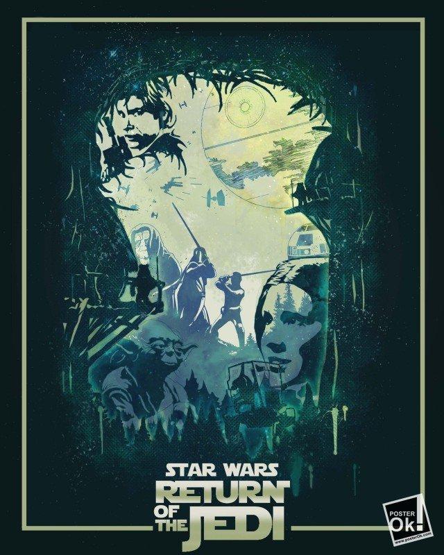 Star Wars / Звездные войны - Фото, изображение, купить постеры, заказать плакаты, картины на холсте. - Россия - Posterok.com