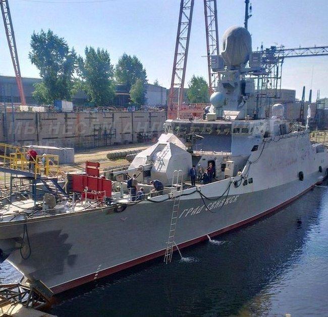 Строящиеся корабли для ВМФ России