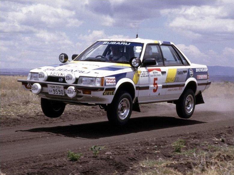 Subaru World Rally Team. Legacy