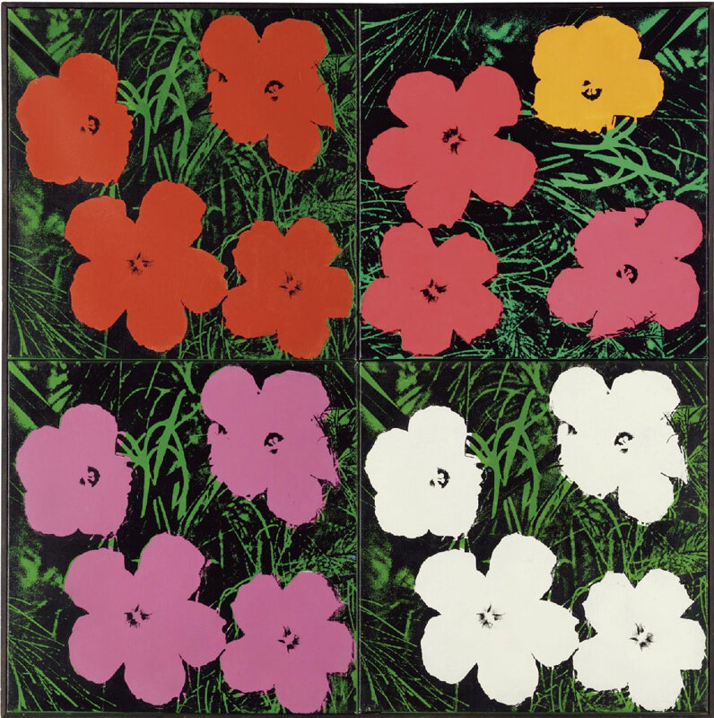 Цветы Уорхола