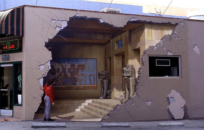 Уличные 3D иллюзии
