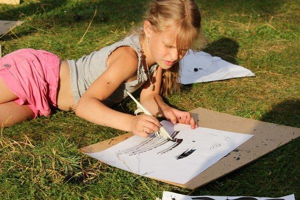 Уроки каллиграфии для детей