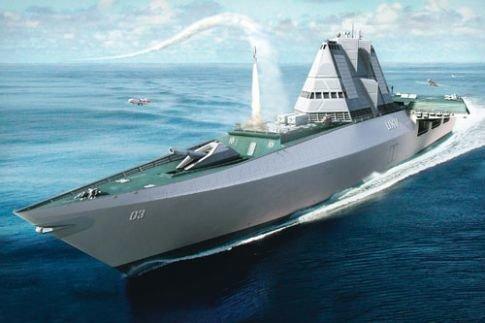 UXV Combatant: корабль с беспилотными летательными аппаратами