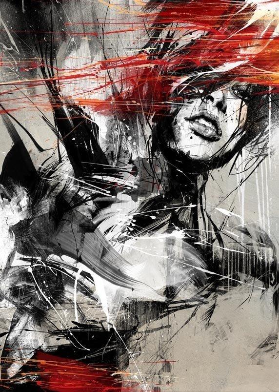Выражение эмоций в иллюстрациях Расса Миллса