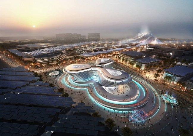 Павильон «Мобильность» на Expo 2020. ОАЭ, Дубай