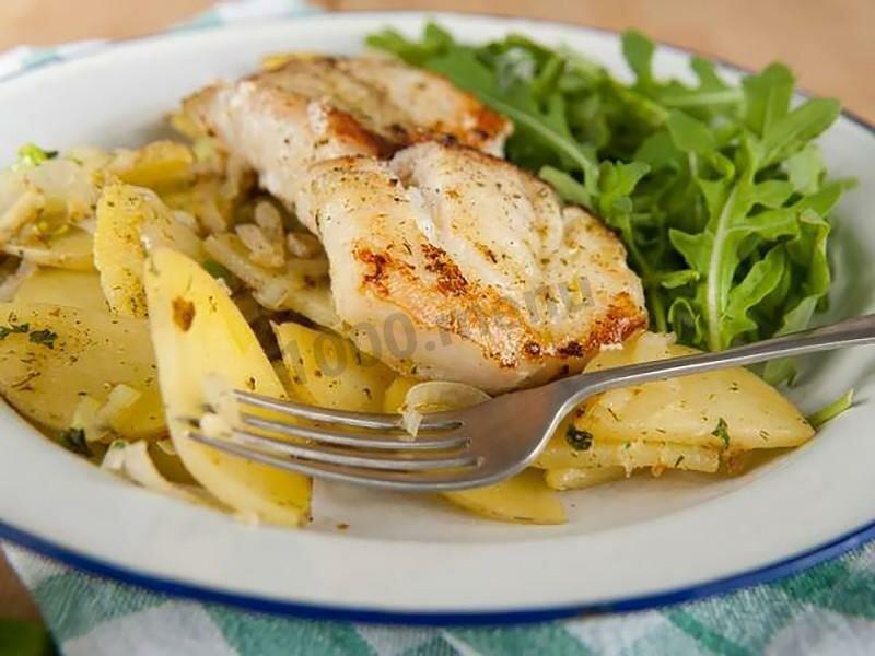Блюда из минтая с картошкой