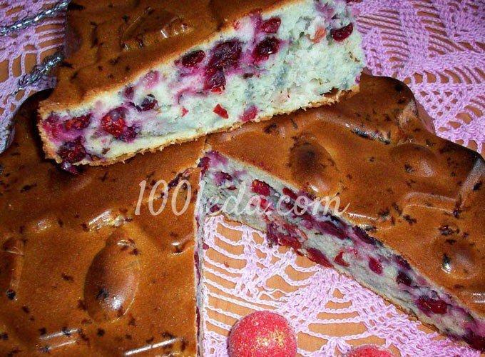 Пирог с замороженной смородиной рецепт с фото