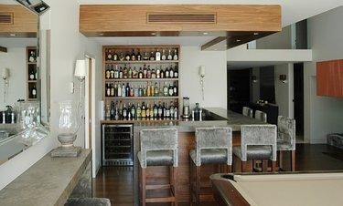бар в доме дизайн