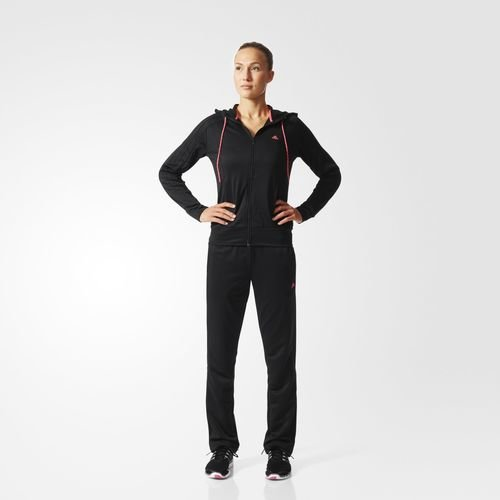 adidas Спортивный костюм (трикотаж) Colorblock - черный | adidas Россия