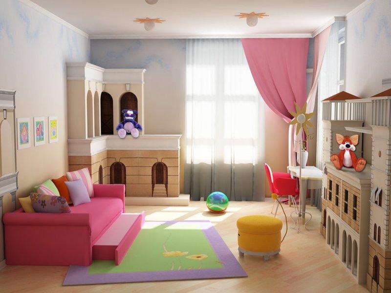 Дизайн и интерьер детской комнаты для разнополых детей своими руками - фото-варианты