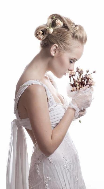 Дополняйте свадебные прически аксессуарами