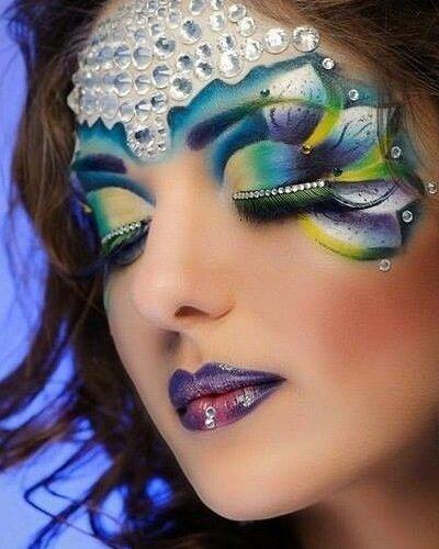 Фантазийный макияж | Фото - 193046