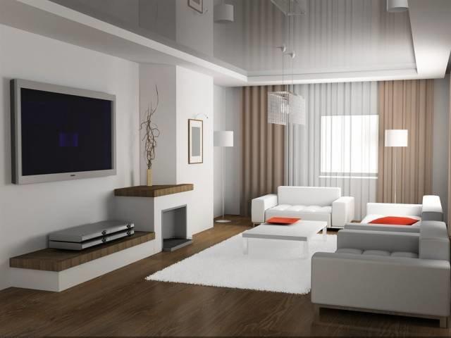 Гостиная EGGER в стиле минимализм - Интерьер гостиной | Дизайн интерьера