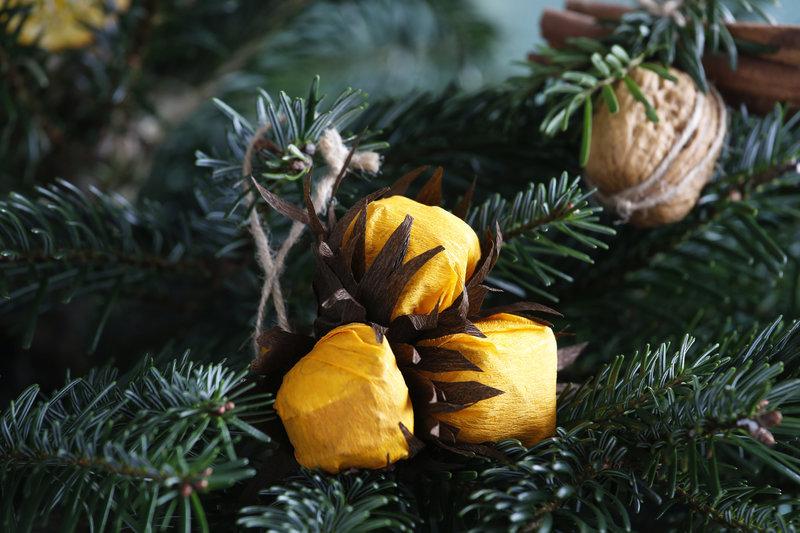 Готовим съедобные украшения для елки
