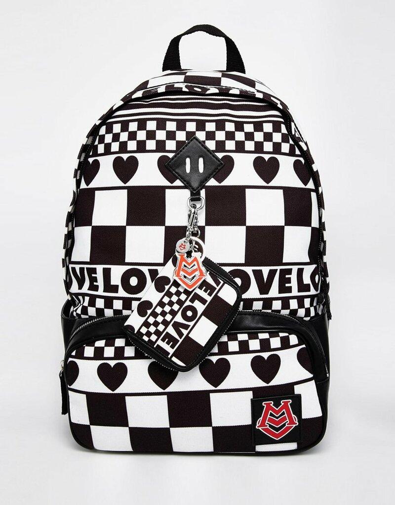 Image 1 ofLove Moschino Printed Backpack