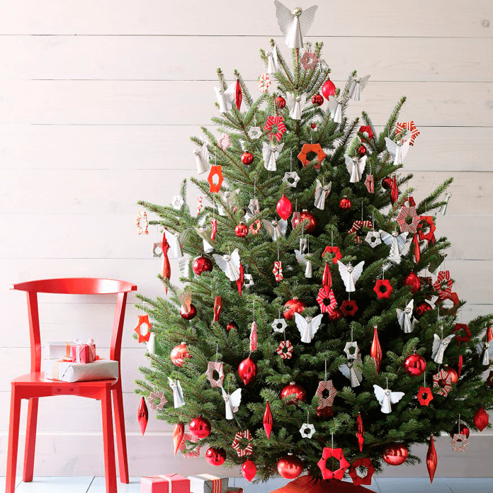Как нарядить новогоднюю ёлку | 10 идей, как лучше украсить ёлочку