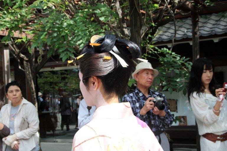 Краткая история японских женских причесок. - Мир Японии