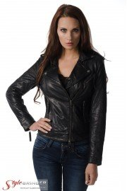 Куртка кожаная ARBEX F153 black
