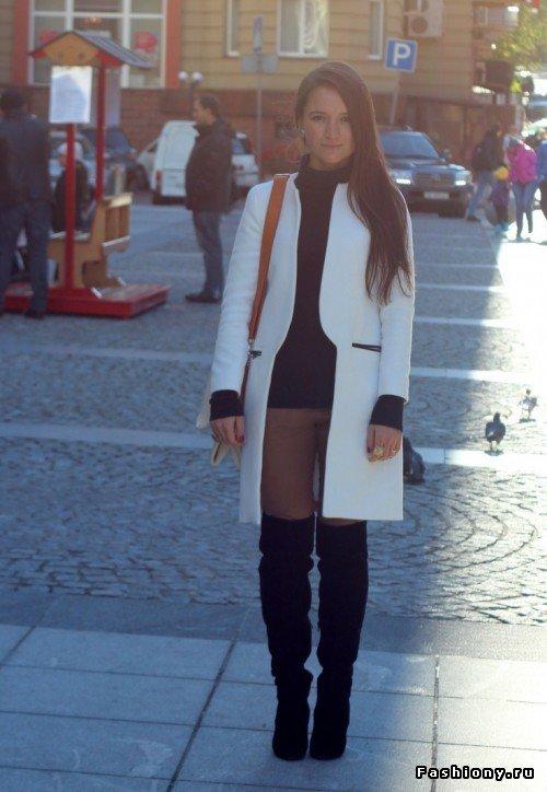 Модные ботфорты 2013 (80 фото)! / фото ножек в высоких сапогах