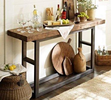 стол для кухни в стиле кантри