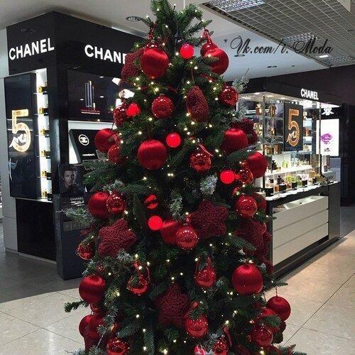 новогодняя елка фото декор украшения