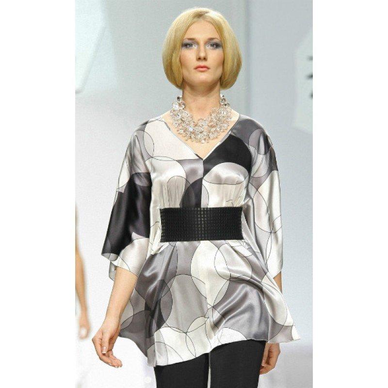 Платье-туника с поясом, MAX CHERNITSOV, Женская одежда, Туника