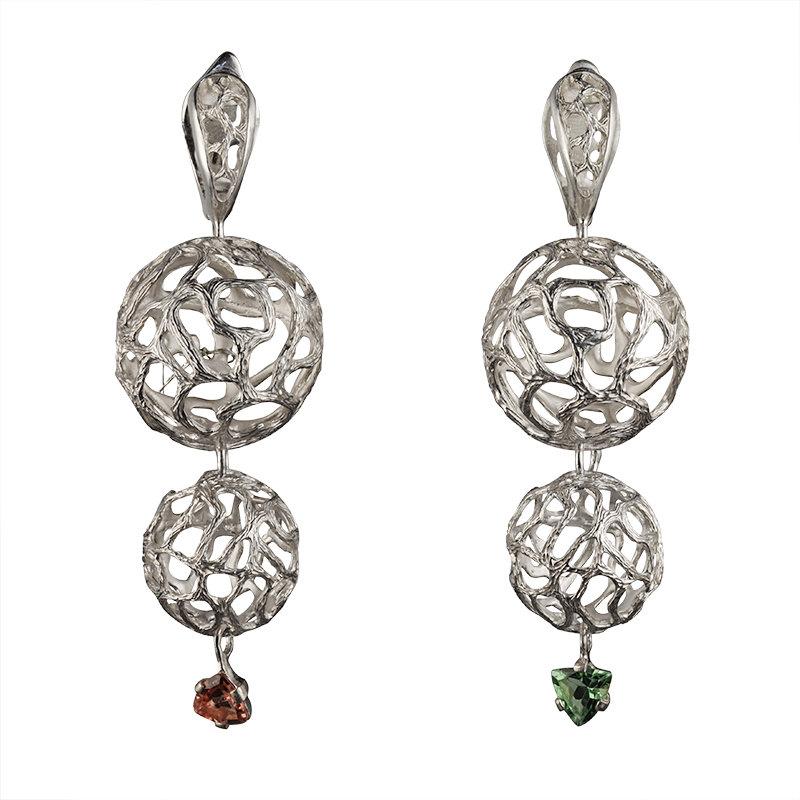 Серьги, купить по выгодной цене, Серьги 95 в Москве - интернет магазин уникальных ювелирных украшений The Drolling Stones