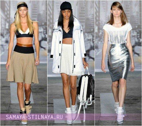 Спортивные майки и топы 2013 от DKNY
