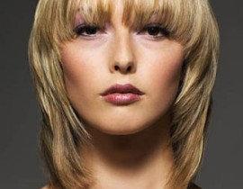 Стрижка каскад на средние волосы с челкой и без: фото видео инструкция