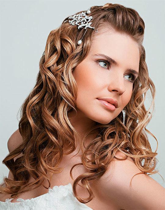 Свадебные прически на длинные волосы — фото, видео